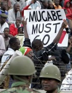 Mugabe and Gaddafi: Why Mugabe must Go